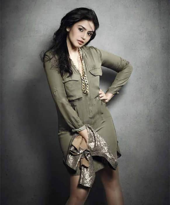 Huma Qureshi poses for the lenses. The actress' last outing at the Box Office, 'Ek Thi Daayan', won her immense critical acclaim.