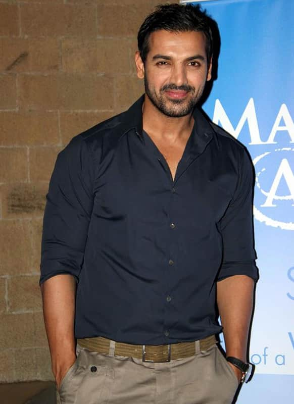 John Abraham was spotted at the celebration of the World Wish Day at the 'Make A Wish' foundation.