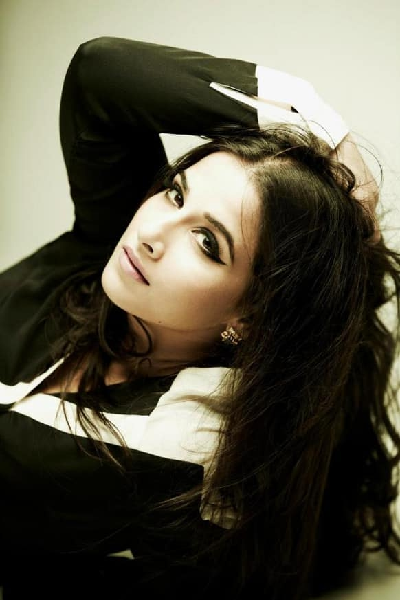The gorgeous Vidya Balan in a still from her photo shoot for Marie Claire.
