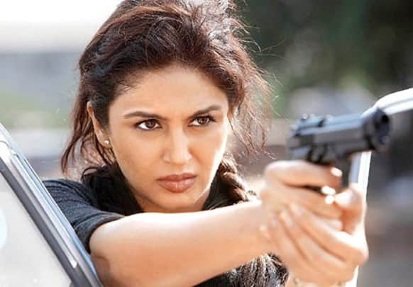 Huma Qureshi in a still from her upcoming film.