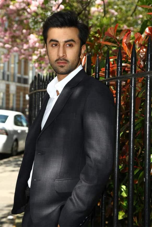 Ranbir Kapoor aka Bunny during the promotion of 'Yeh Jawaani Hai Deewani' in London.