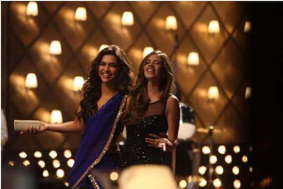 Kalki Koechlin and Deepika Padukone in a still from 'Yeh Jawaani Hai Deewani'.