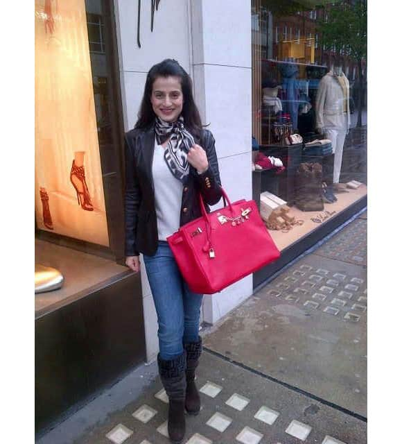 Ameesha Patel tweets this picture for her fans.