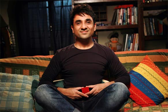 Vir Das in a still from 'Go Goa Gone'.