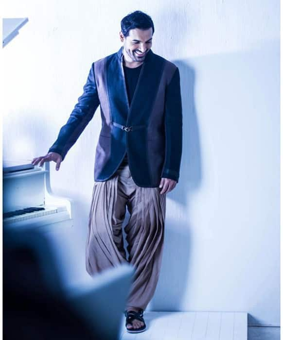 John Abraham in a still from the Filmfare May 2013 photo shoot.