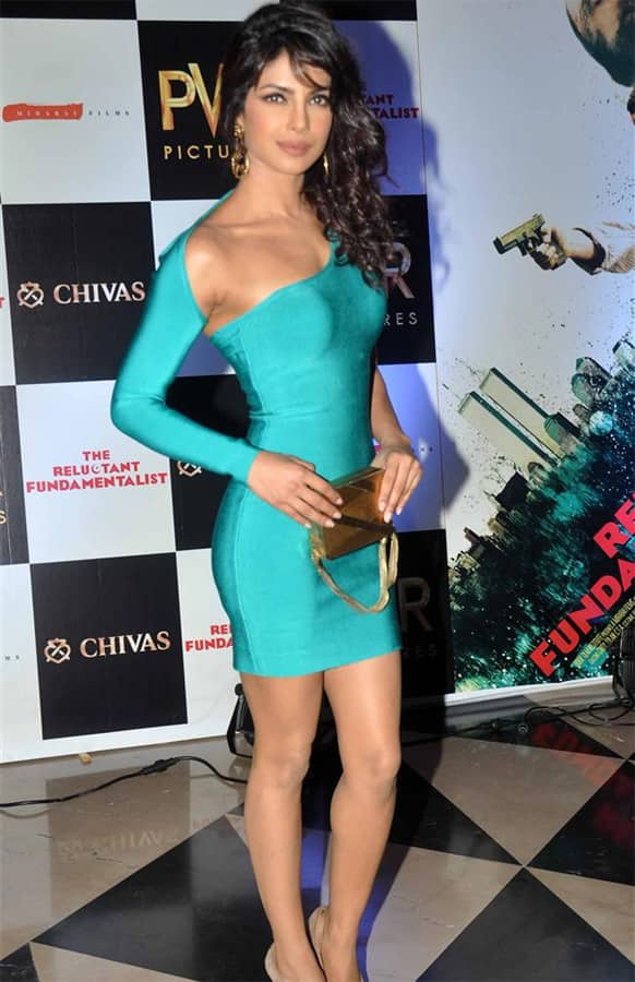 Priyanka Chopra was spotted at the premiere of 'The Reluctant Fundamentalist'. Directed bu Mira Nair, the film hits theatres May 17, 2013.