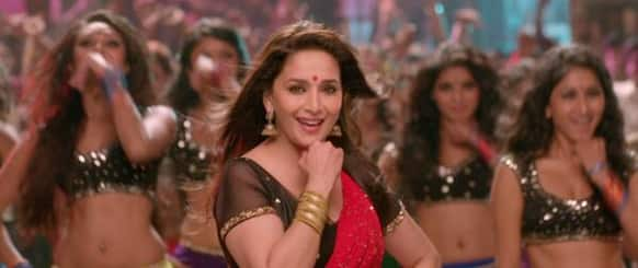 Madhuri Dixit in a song titled 'Ghagra' from 'Yeh Jawaani Hai Deewani'.