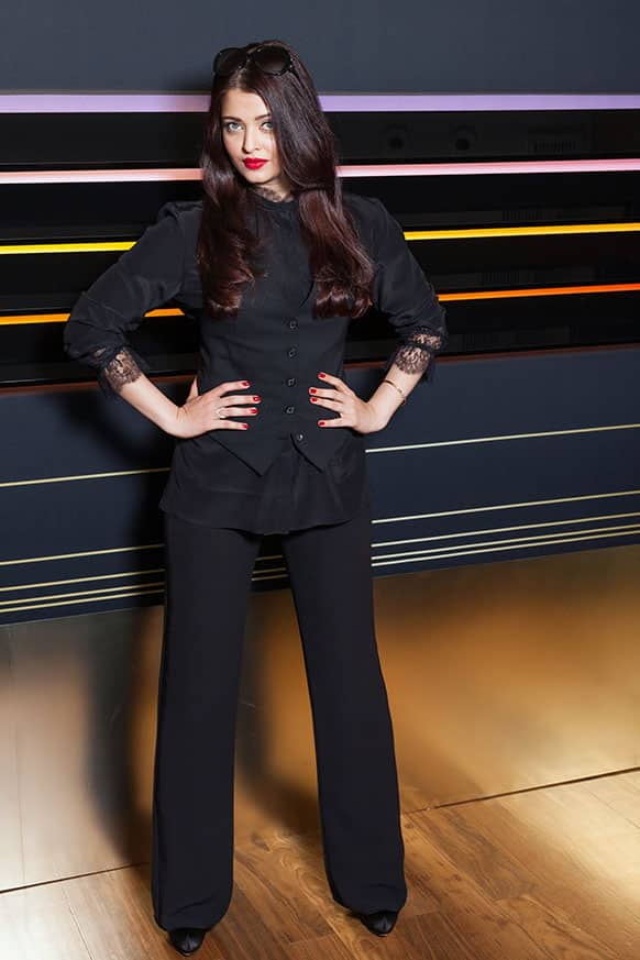 Actress Aishwarya Rai poses for portraits at the 66th international film festival, in Cannes.