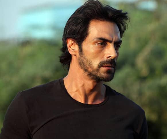 Arjun Rampal in a still from the action drama 'D-Day'.