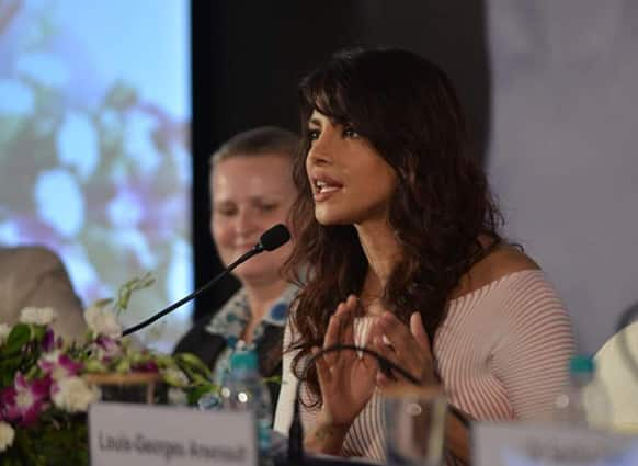 Priyanka Chopra, a UNICEF Goodwill Ambassador, was spotted spending a day with underprivileged kids.