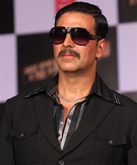 Akshay Kumar at the launch of the first look of 'Once Upon A Time In Mumbaai Again'.