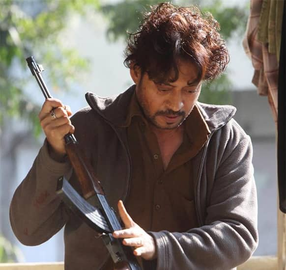 Irrfan Khan in a still from 'D-Day'. Directed by Nikhil Advani, the film releases July 19.