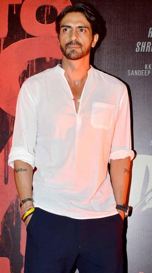 Arjun Rampal at the launch of the first look of 'D-Day'.