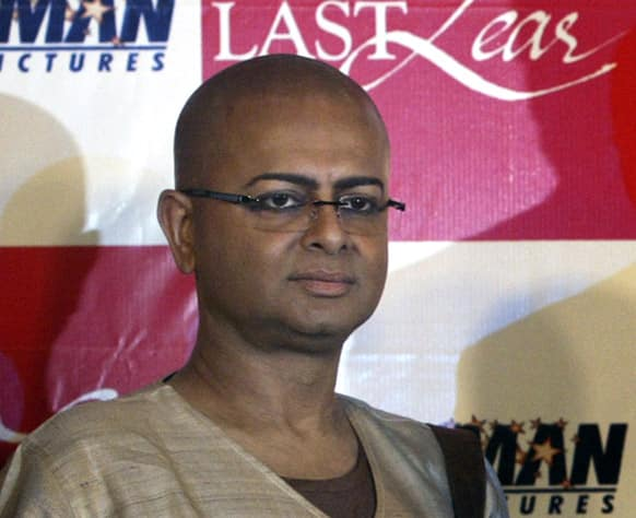 FILE- In this Sept. 12, 2008 file photo, Director Rituparno Ghosh poses for the media during a press conference in Calcutta. Ghosh, whose work includes award-winning films in the Bengali language, died Thursday, May 30, 2013 of cardiac arrest at age 49