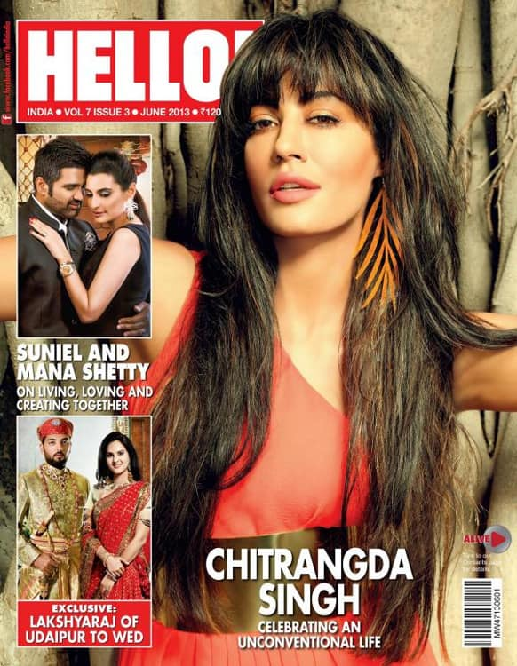 Chitrangda Singh on the cover of HELLO!, June issue.