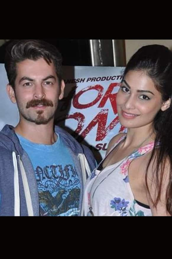 Neil Nitin Mukesh and Puja Gupta promote 'Shortcut Romeo'. Image Courtesy: Pinkvilla