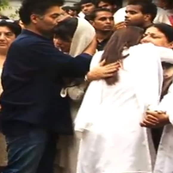 Karan Johar lends emotional support to Priyanka Chopra.
