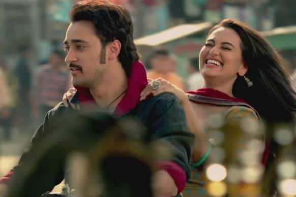 Imran Khan and Sonakshi Sinha in a Still from 'Once Upon A Time In Mumbaai Again'.