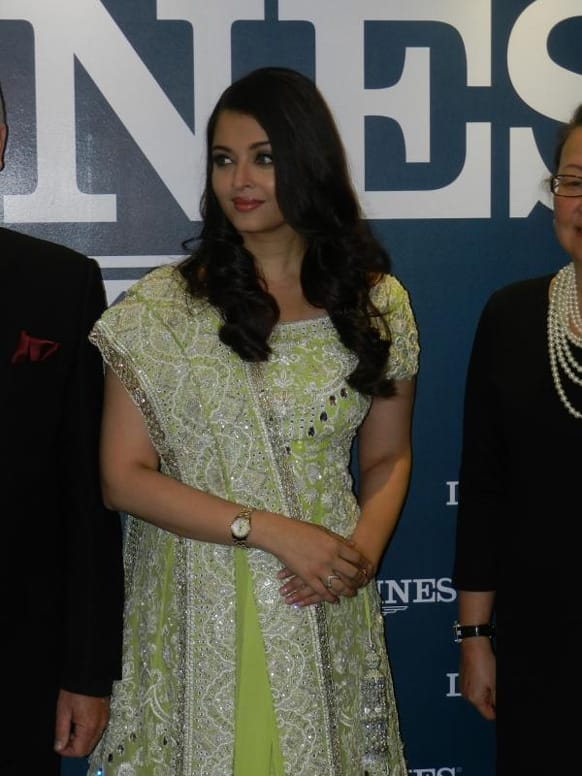 Aishwarya Rai promotes Longines at an event organised by the luxury watch brand in Malaysia. Image Courtesy: Pinkvilla
