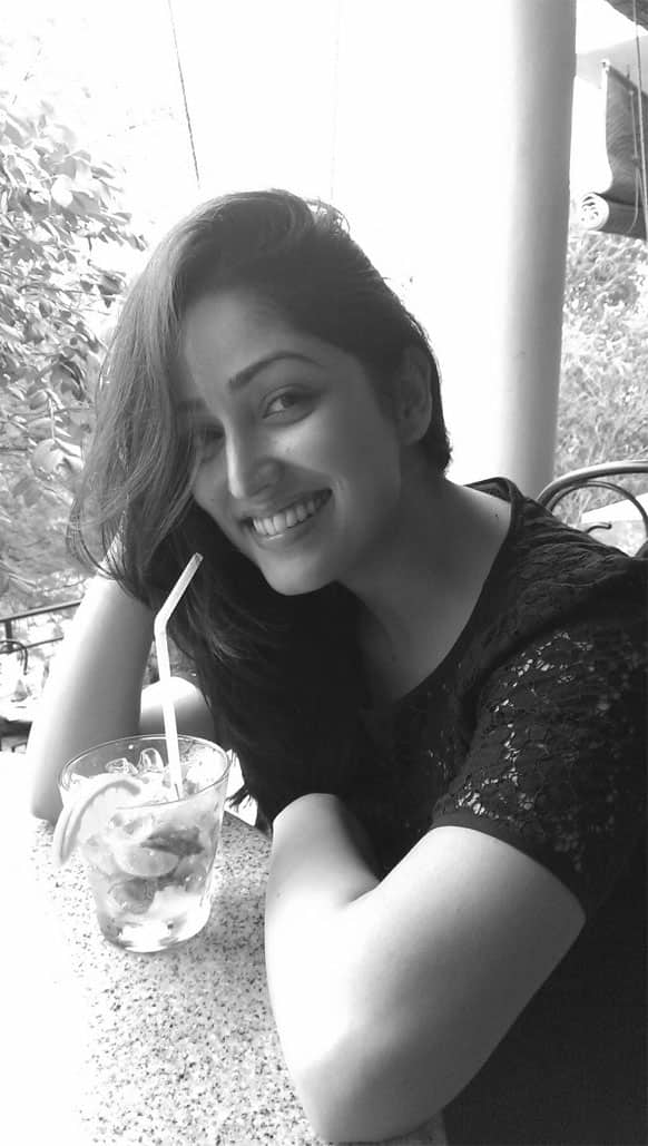 Yaami Gautam posted this pic of hers on Twitter recently.