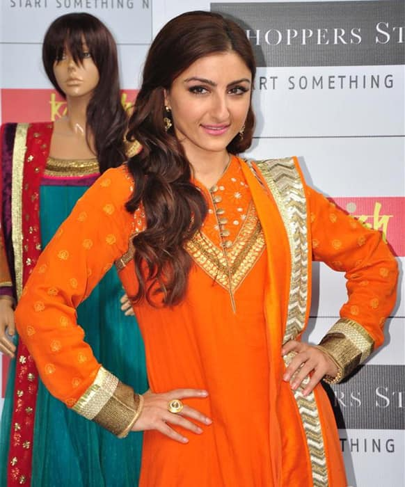 Soha Ali Khan at an event.