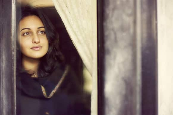 Sonakshi Sinha in a still from the film 'Lootera'.