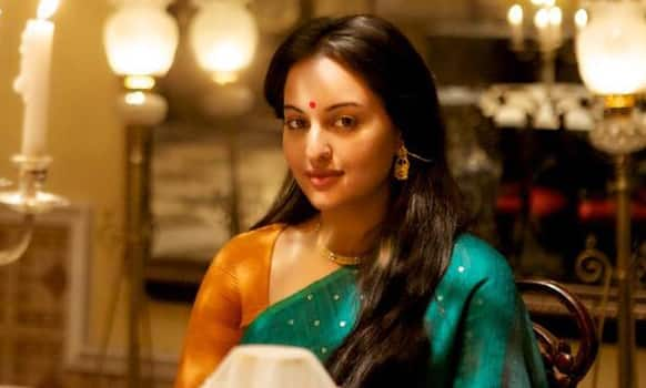 Sonakshi Sinha in a still from'Lootera'.