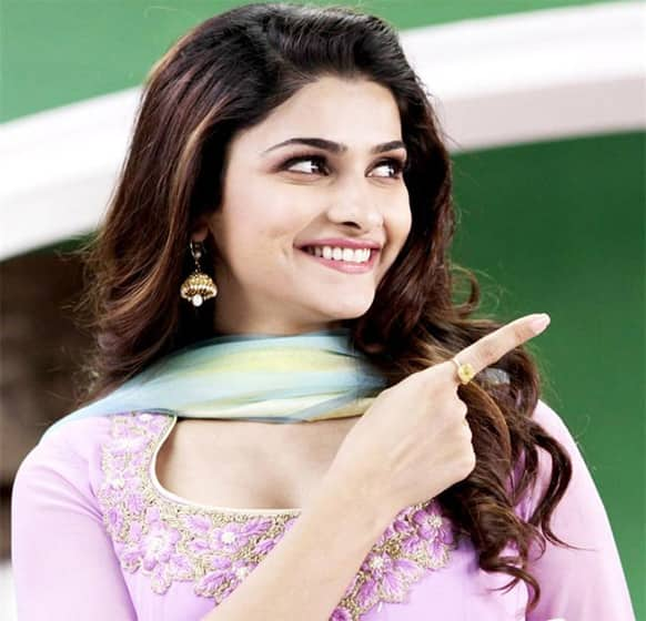 Prachi Desai in a still from 'Policegiri'.