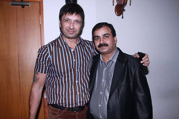 Actor Shiva with director Ajay Yadav.