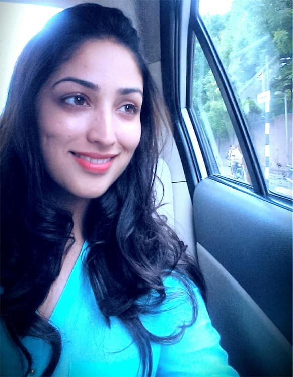 Yaami Gautam recently posted this photo of hers on Twitter.