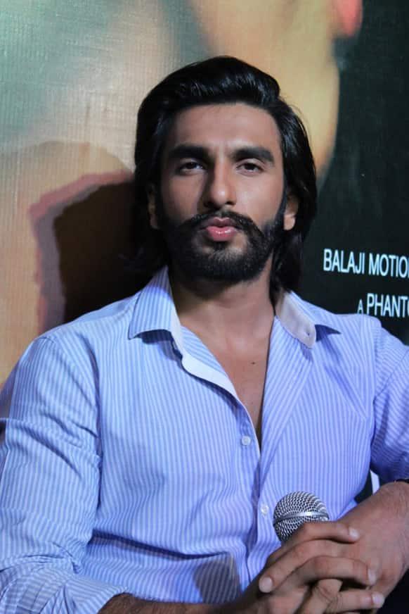 Ranveer  Singh  was in a flirty mood.