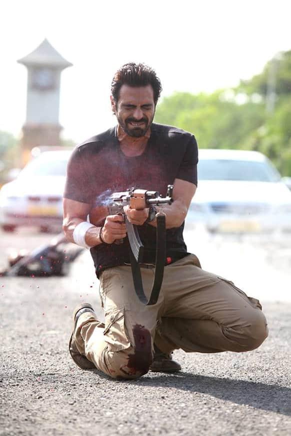 Arjun Rampal in a still from 'D-Day'.