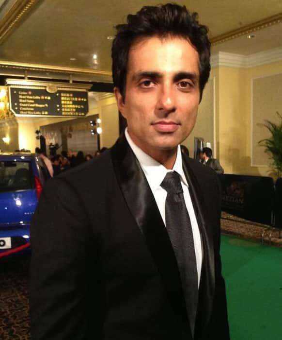 Sonu Sood at the IIFA 2013 main event.