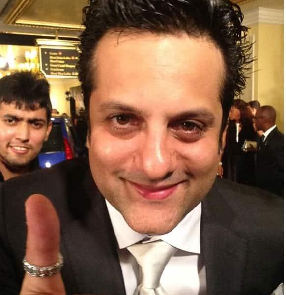 Fardeen Khan's close-up shot shot.