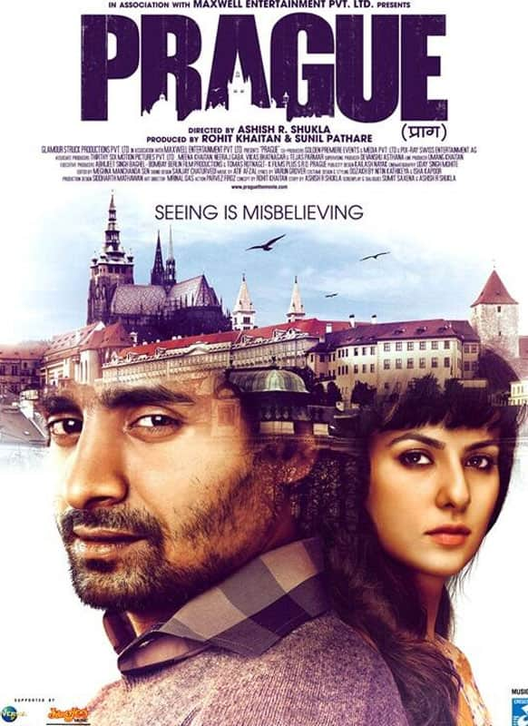 A poster of Ashish R. Shukla's 'Prague'.