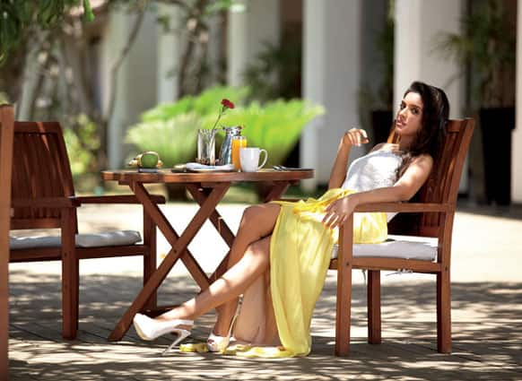 Asin was captured by the camera during her recent photoshoot. (Pic courtesy: Filmfare)