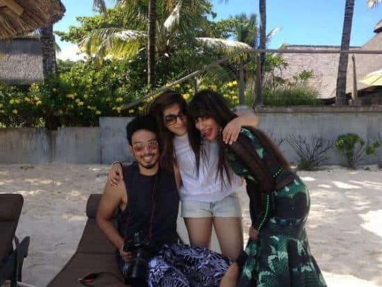 Chitrangda Singh on the sets of her photoshoot for Grazia in Mauritius.