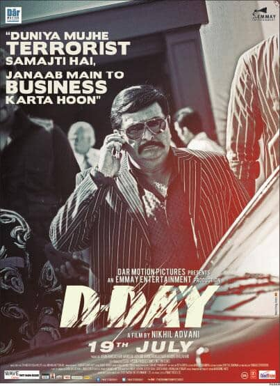Check out the brand new poster of 'D-Day'.