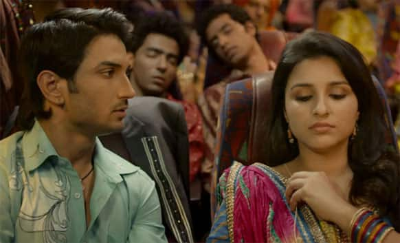 Parineeti Chopra and Sushant Singh Rajput seem to be showing a firebrand chemistry in the film.