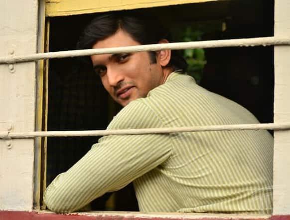First look of Sushant Singh Rajput as Byomkesh Bakshi. Pic courtesy: Pinkvilla
