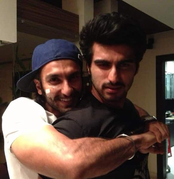 Ranveer Singh and Arjun Kapoor have been bonding very well on and off the sets of their film 'Gunday'.