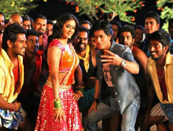 A still from the movie 'Chennai Express', that releases today across India.