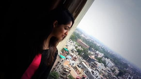 Yami Gautam is in Delhi today for the store launch of Forever 21 store. (Pic courtesy: YamiOfficial)