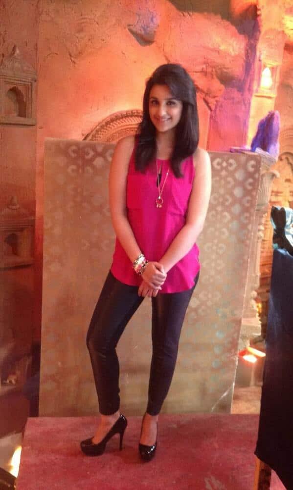 Parineeti Chopra at the promotional event of her latest- 'Shuddh Desi Romance'.