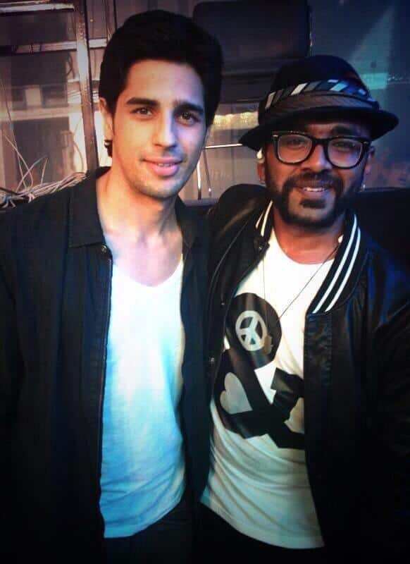 Sidharth Malhotra tweets a picture with singer Benny Dayal.