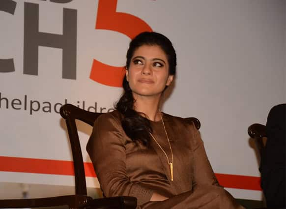 Kajol appeared at an event to lent her support for the cause of hand washing. (Pic courtesy: Filmfare)