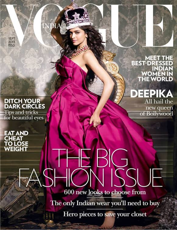 Vogue India's latest issue says Deepika Padukone is the new Bollywood Queen.