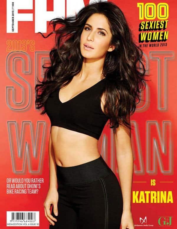Katrina Kaif on the cover of FHM magazine, September issue. Pic courtesy: Pinkvilla