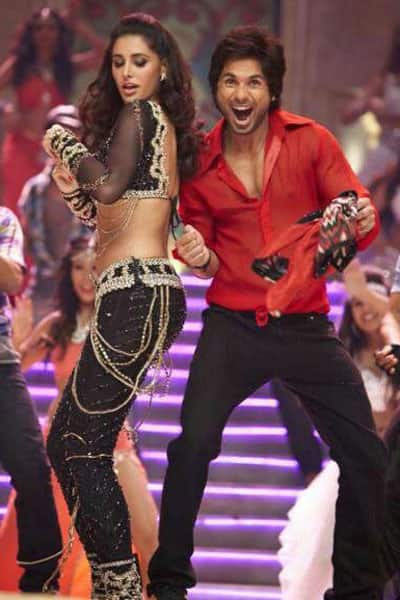 Nargis Fakhri and Shahid Kapoor in a still from 'Phata Poster Nikla Hero'. Pic courtesy: Facebook