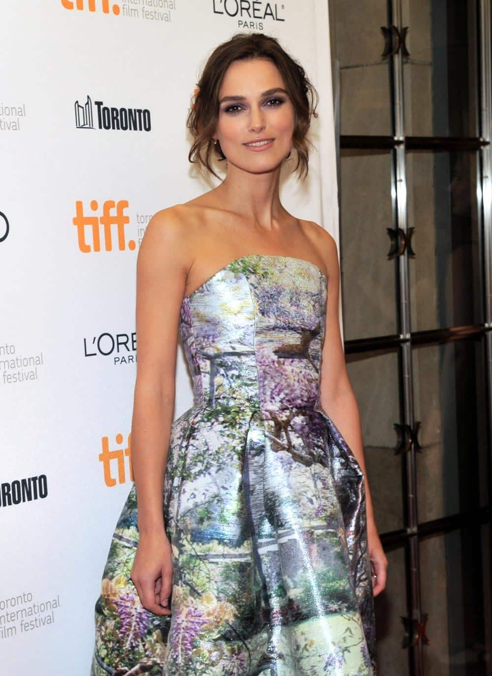 Keira Knightley arrives at the premiere of